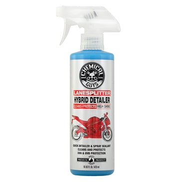 Lane Splitter Hybrid Detailer High Shine Cleaner and Protectant for Motorcycles (16 oz)