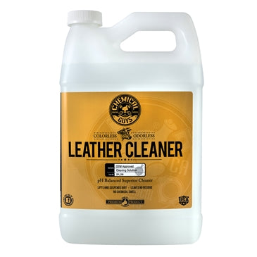 Leather Cleaner - Colorless & Odorless Super Cleaner (1 Gal)