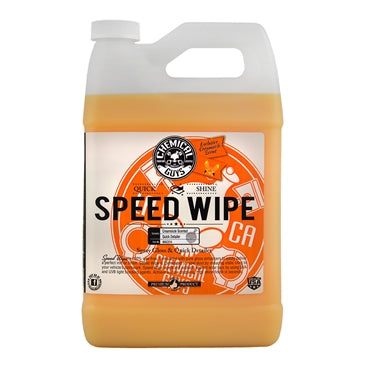 Speed Wipe Quick Detailer, Limited Edition Summertime Creamsicle Scent (1 Gal)