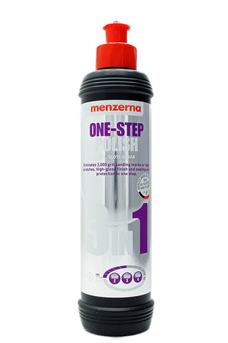 Menzerna  One-Step Polish 3in1, 8 oz.
