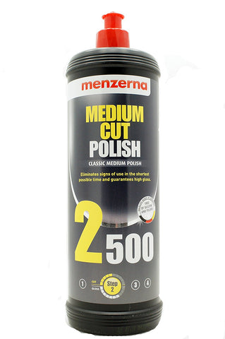Menzerna Medium Cut Polish 2500 1 Quart