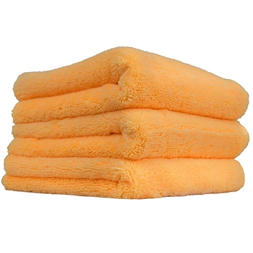 "Orange Banger Extra Thick Microfiber Towel, 16"" x 16"" (3 Pack)"