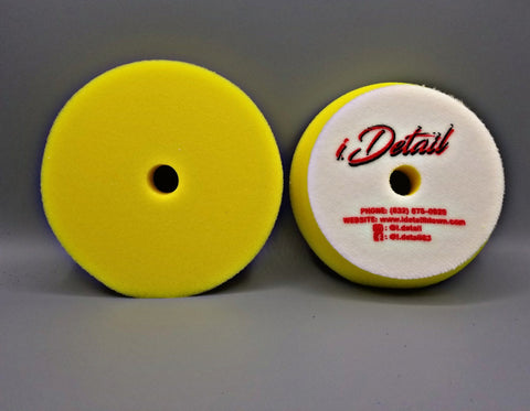 i.detail 5 inch  Yellow Fine Polishing Foam Pad
