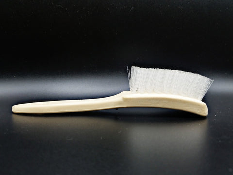 Small White Nylon Whitewall/Sidewall Brush