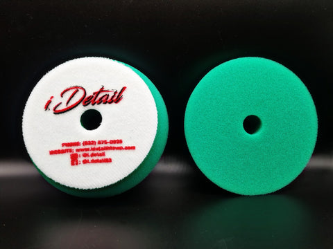 i.detail 5inch Green Medium Foam Pad