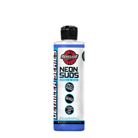 Renegade Neon Polish Concentrated Wash & Wax (Blue) 16oz