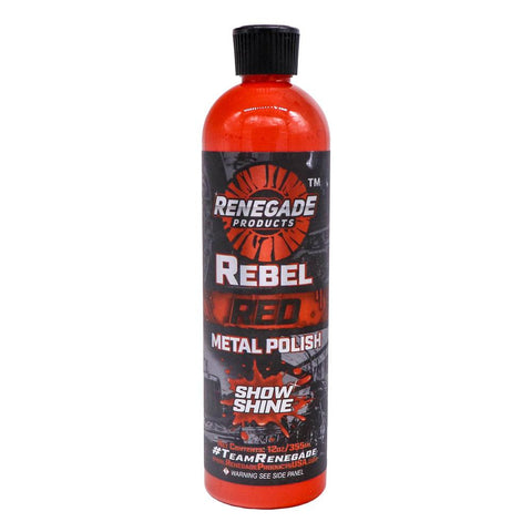 Rebel Red Liquid Metal Polish  12oz