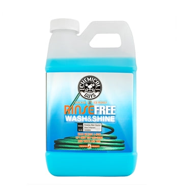 Rinse Free Wash and Shine, The Hose Free Rinseless Car Wash (64 ounce - 1/2 Gallon)