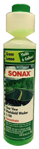 SONAX Clear View Windshield Wash Concentrate 250ml