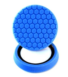 Self-Centered Hex-Logic Light Cleaning, Glazes and Gloss Enhancing Pad, Blue (7.5 Inch) 1 pad