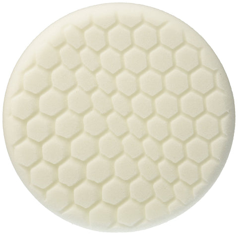 Self-Centered Hex-Logic Medium Life Polishing Pad, White (7.5 inch)