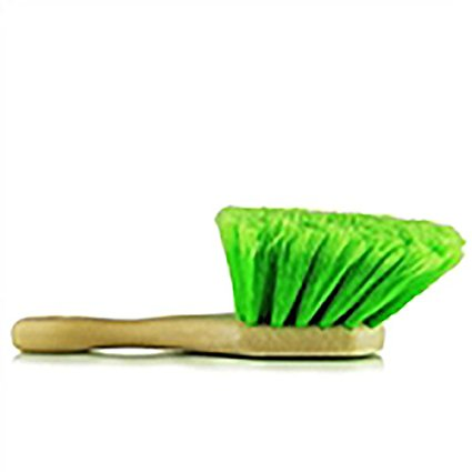 Short Handle Body Brush-Green