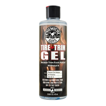 Tire and Trim Gel for Plastic and Rubber (16 oz)