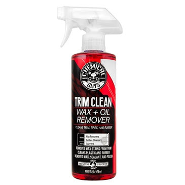 Trim Clean Wax and Oil Remover for Trim, Tires, and Rubber (16 oz)