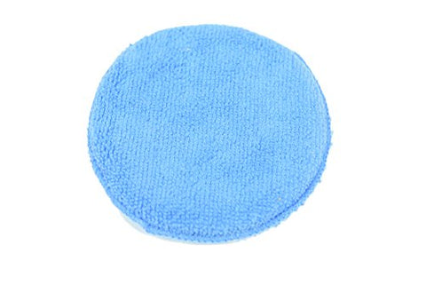 "5"" Round Microfiber Applicator Blue"