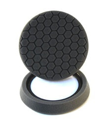 Self-Centered Hex Logic Finishing Pad, Black (7.5 Inch)