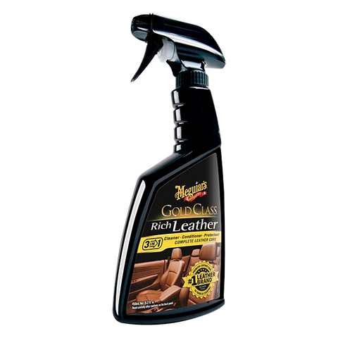 Meguiar's Gold Class™ Rich Leather Cleaner & Conditioner, 16 oz.