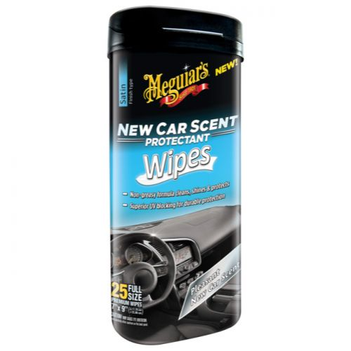 Meguiar's New Car Scent Protectant Wipes