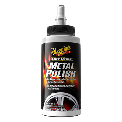 Meguiar's Hot Rims™ Metal Polish, 10 oz