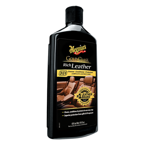 Meguiar's Gold Class™ Rich Leather Cleaner/Conditioner, 14 oz