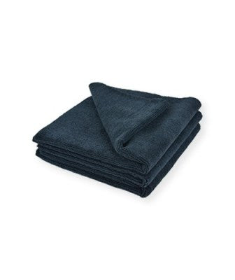 16x16 Black Edgeless Towels 3pack