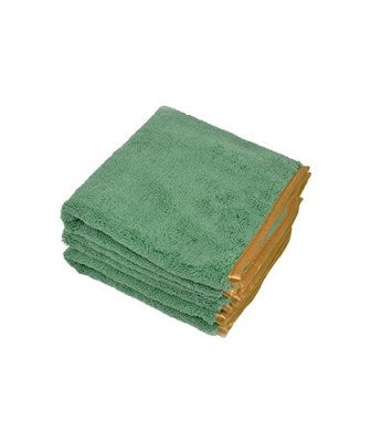 Microfiber Silk Banded Towel For Auto Drying & Buffing  16x24