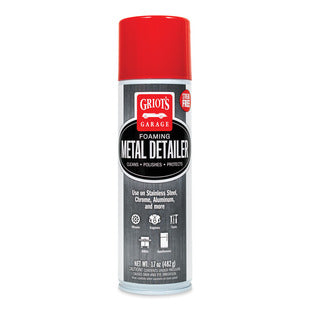FOAMING METAL DETAILER, 17 oz