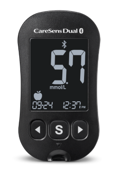 CareSens Dual Meter For Glucose and Ketone.