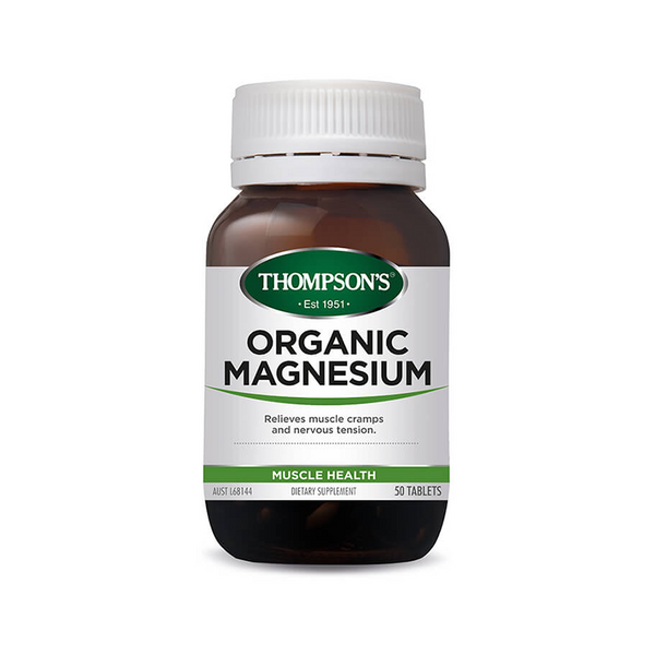 Thompsons Organic Magnesium Tablets 120