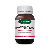 Thompsons One-A-Day Hawthorn 2000mg 30 Capsules