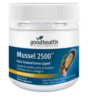 Good Health Green Lipped Mussel 2500 mg 300 Caps - Pakuranga Pharmacy