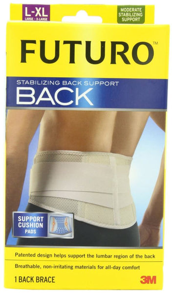 FUTURO BACK STABILIZER  SUPPORT  LARGE/X LARGE - Pakuranga Pharmacy