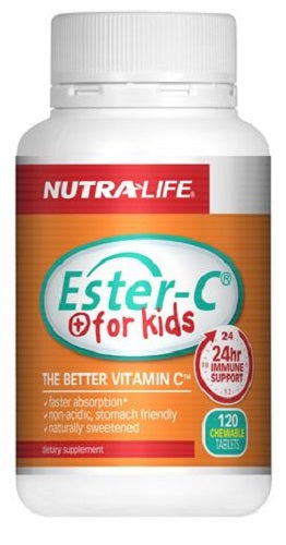 Nutralife Ester C For Kids chewable 60 tabs