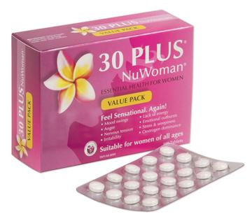 30 plus Nu Woman 120 tablets - Pakuranga Pharmacy