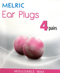 Melric Ear Plugs 4 pairs - Mouldable Wax