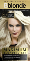 Jerome Russell  Bblonde Maximum blonding kit - light to dark brown hair