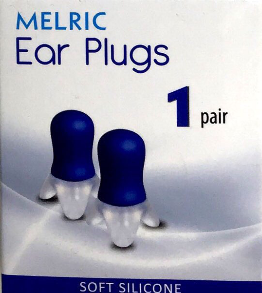 Melric Ear Plugs 1 pair - Soft Silicone
