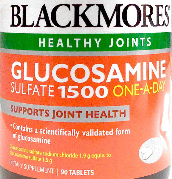 Blackmores Glucosamine sulfate 1500 ONE-A-DAY - Tablets 90 - Pakuranga Pharmacy