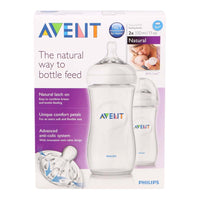 Philips Avent NATURAL Bottles 2 Pack 330 ml