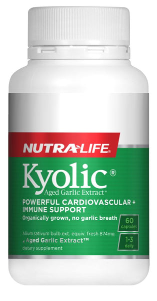 Nutralife Kyolic Aged Garlic Extract High Potency Caps 60's