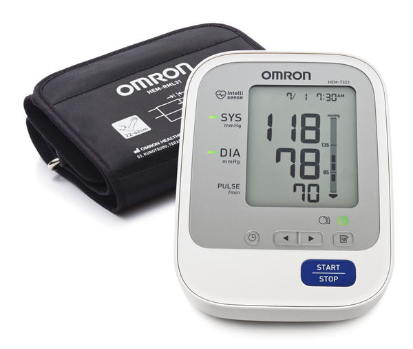 Omron HEM 7322 UPPER ARM Blood Pressure BP Monitor