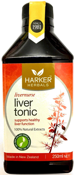 Harker Herbals liver tonic - 250 ml - Pakuranga Pharmacy