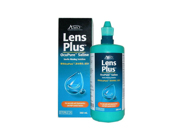 Lens plus OcuPure Saline contact lens 360 ml - Pakuranga Pharmacy