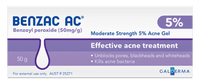 Benzac AC Acne Gel 5% 60 gm