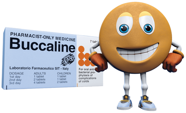 BUCCALINE NATURAL ACTIVE ORAL VACCINE 7 TABLETS PHARMACIST ONLY MEDICINE - Pakuranga Pharmacy