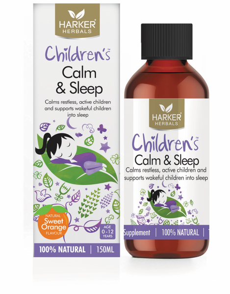 Harker Herbals Childrens Calm and Sleep Liquid 150ml-Sweet Orange - Pakuranga Pharmacy