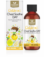 Harker Herbals Childrens Chest Soothe DAY Liquid 150ml-Sweet Lemon - Pakuranga Pharmacy
