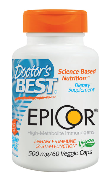 Doctor's Best EpiCor 500mg 60 Veggie Caps