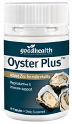 Good Health Oyster Plus Capsules 60's - Pakuranga Pharmacy