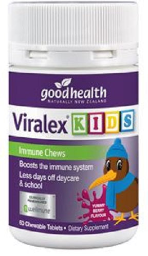 Good Health Viralex Kids Immune Chews 60 tablets - Pakuranga Pharmacy